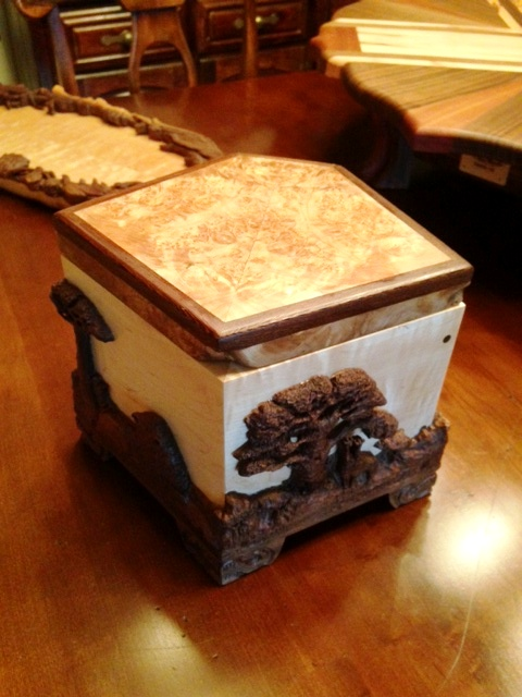 artisan box, jewelry box