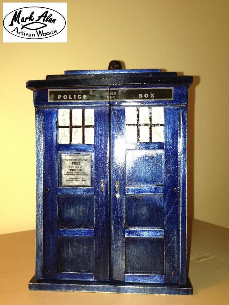 Dr. Who ring box